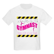 Warning_Gymnast T-Shirt