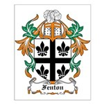 Fenton Coat of Arms Small Poster