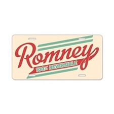 Romney Reversible Aluminum License Plate