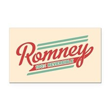 Romney Reversible Rectangle Car Magnet