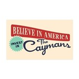 Invest in Caymans Wall Decal