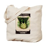 Antique Seed Packet Art Sweet Fennel Tote Bag