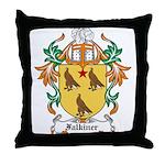 Falkiner Coat of Arms Throw Pillow