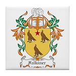 Falkiner Coat of Arms Tile Coaster