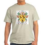 Falkiner Coat of Arms Ash Grey T-Shirt