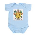 Falkiner Coat of Arms Infant Creeper