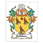 Falkiner Coat of Arms Small Poster