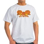 Halloween Pumpkin Steve Light T-Shirt