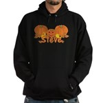 Halloween Pumpkin Steve Hoodie (dark)