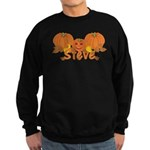 Halloween Pumpkin Steve Sweatshirt (dark)