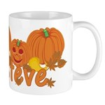 Halloween Pumpkin Steve Mug