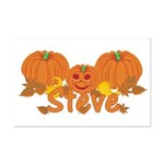 Halloween Pumpkin Steve Mini Poster Print
