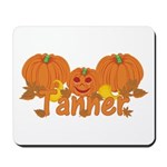 Halloween Pumpkin Tanner Mousepad