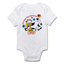 Cow Over Moon 1st Birthday Infant Bodysuit