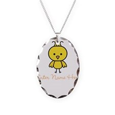 Personalized Baby Chick Necklace