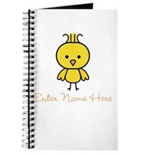 Personalized Baby Chick Journal