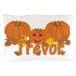Halloween Pumpkin Trevor Pillow Case