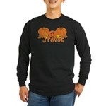 Halloween Pumpkin Trevor Long Sleeve Dark T-Shirt