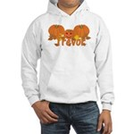 Halloween Pumpkin Trevor Hooded Sweatshirt