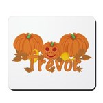 Halloween Pumpkin Trevor Mousepad