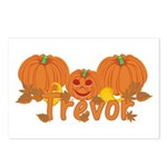 Halloween Pumpkin Trevor Postcards (Package of 8)