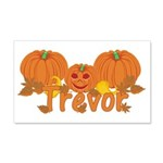 Halloween Pumpkin Trevor 20x12 Wall Decal