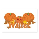 Halloween Pumpkin Walter Postcards (Package of 8)