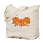 Halloween Pumpkin Wayne Tote Bag