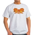 Halloween Pumpkin Wayne Light T-Shirt