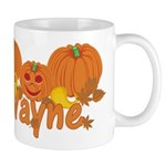 Halloween Pumpkin Wayne Mug