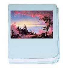 Frederic Edwin Church Sunrise baby blanket