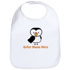 Personalized Puffin Bib
