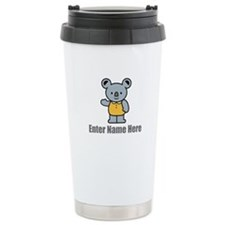 Personalized Koala Bear Travel Mug