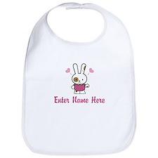Personalized Bunny Bib