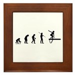 Gymnast Evolution3 Framed Tile