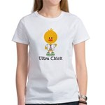 Ultra Chick Peace Love 100 Women's T-Shirt
