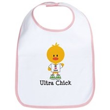 Ultra Chick Peace Love 100 Bib