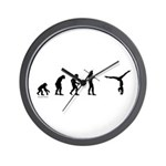 Gymnast Evolution7 Wall Clock