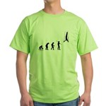 Gymnast Evolution2 Green T-Shirt