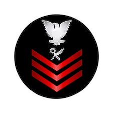 """Navy Intelligence Specialist First Class 3.5"""" Butt"""