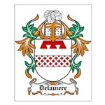 Delamere Coat of Arms Small Poster