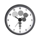Gray Question Mark Wall Clock