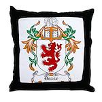 Dease Coat of Arms Throw Pillow