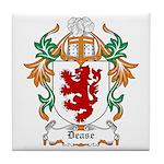 Dease Coat of Arms Tile Coaster