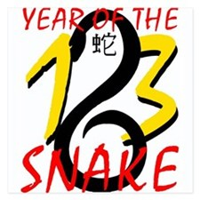 Year of the Snake 2013 Invitations