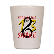 Year of the Snake 2013 Shot Glass