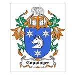 Coppinger Coat of Arms Small Poster