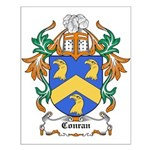 Conran Coat of Arms Small Poster