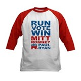 Romney Ryan Run Vote Win Tee