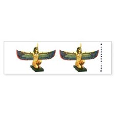 Winged Maat Bumper Sticker